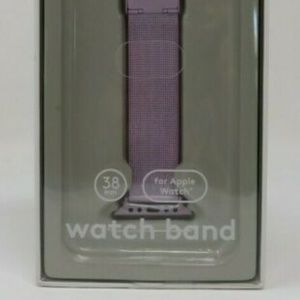 Heyday 38 MM for Apple Watch/ WatchBand Mesh Pink